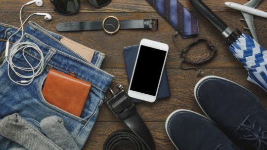 Les accessoires pour les messieurs